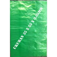 KANTONG PLASTIK GREEN 35  X 55 cm x  0.05 mm
