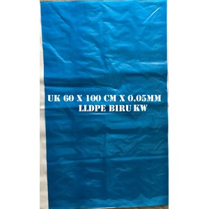 From POLYBAG LDPE BLUE 60 X 100 cm x 0.05 mm 0