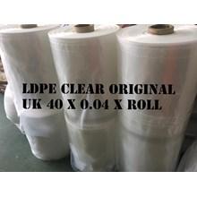 PLASTIK ROLL LDPE ORI CLEAR uk.40 X 0.04 X ROLL