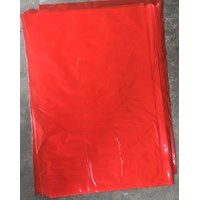 Kantong plastik ORI PE Red uk 50 X 75 X 0.05