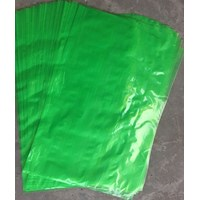 KANTONG PLASTIK PE GREEN uk 60 X 100 X  0.05 mm