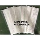 KANTONG PLASTIK LDPE PACK ORI CLEAR uk. 60 X 100 X 0.06 1