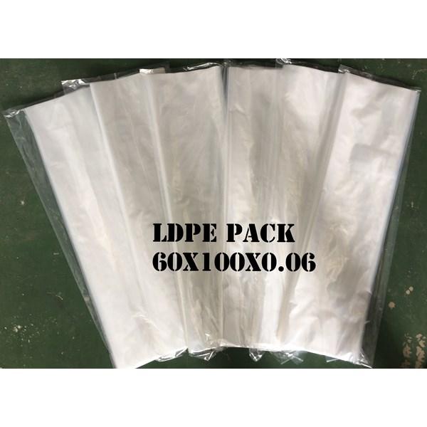 KANTONG PLASTIK LDPE PACK ORI CLEAR uk. 60 X 100 X 0.06