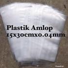 KANTONG PLASTIK AMLOP 15 x 30 cm x 0.04 mm 1