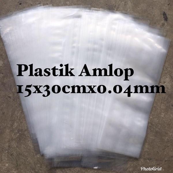 KANTONG PLASTIK AMLOP 15 x 30 cm x 0.04 mm