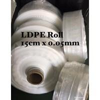 PLASTIK ROLL ORI CLEAR UK.15 X 0.05mm