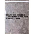 AMPLOP PLASTIK CLEAR POLOS  A5 SIZE  1