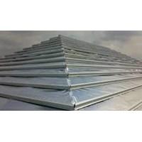 Aluminium Foil Shine Foil Woven Metalizing Single Side  Murah 5