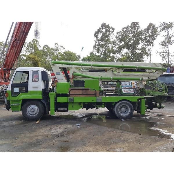 Concrete Pump Truck - Isuzu Ihi Ipf - 21M Standard (3 Arms)