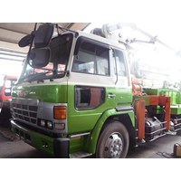 Concrete Pump Truck - Hino Kyokuto - 26M Semi (4 Arms)