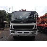 Beli Concrete Pump Truck - Isuzu Kyokuto - 37M Double (4 Arms) 4