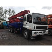 Jual Concrete Pump Truck - Isuzu Kyokuto - 37M Double (4 Arms) 2