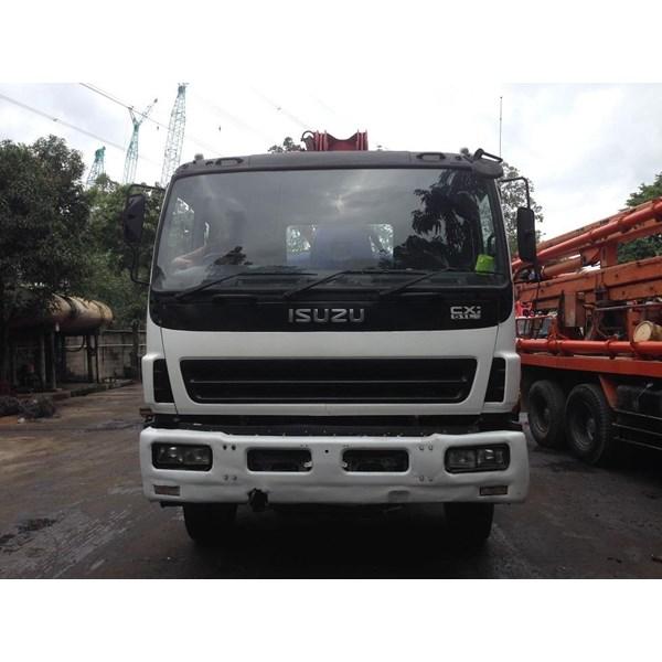 Concrete Pump Truck - Isuzu Kyokuto - 37M Double (4 Arms)