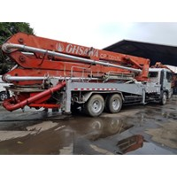 Concrete Pump Truck - Hino Ihi - 36M Double (4 Arms) Murah 5