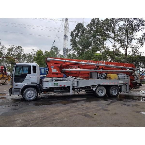 Concrete Pump Truck - Hino Ihi - 36M Double (4 Arms)