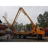 Jual Concrete Pump Truck - Isuzu Ihi Ipf - 30M Long (3 Arms) 2