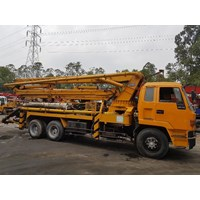 Beli Concrete Pump Truck - Isuzu Ihi Ipf - 30M Long (3 Arms) 4