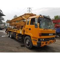 Concrete Pump Truck - Isuzu Ihi Ipf - 30M Long (3 Arms) Murah 5