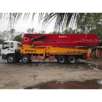 Concrete Pump Truck - Isuzu Sany  - 48M Super (5 Arms)