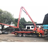 Concrete Pump Truck - Isuzu Ihi Ipg - 30M Long (3 Arms)