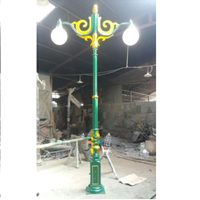 Tiang Lampu Antik Model 2 1