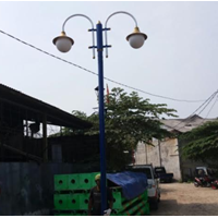 Tiang Lampu Antik Model 4 1