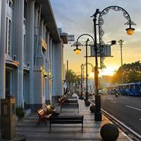 Tiang Lampu Antik Type Maung Bandung