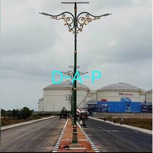 tiang lampu dekoratif