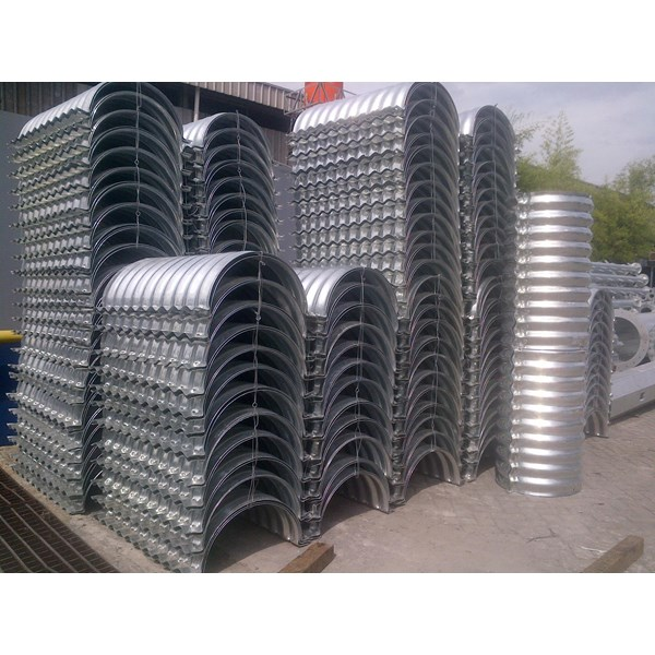 Corrugated Steel Pipes
