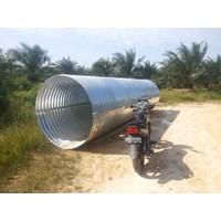 Beli Pipa Gorong Gorong Baja Armco Nestable Flange E-100 4