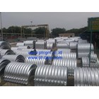 CORRUGATED STEEL PIPE NESTABLE FLANGE E 100 9