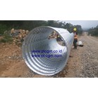 CORRUGATED STEEL PIPE NESTABLE FLANGE E 100 6