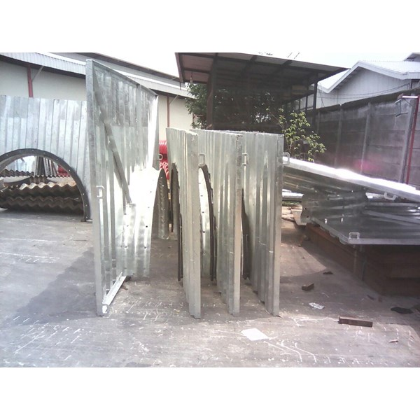 Wing Wingwall Headwall Armco Steel Materials