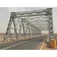 Jembatan Rangka Baja (Truss)