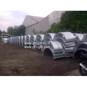 Pipa Baja Bergelombang/Corrugated Steel Pipe