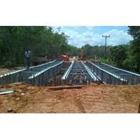 The Bridge Truss Composite Girder