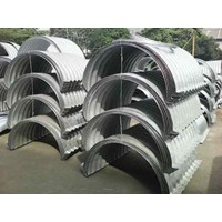 Ready stock Pipe section of the sewers of galvanized steel