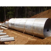 Corrugated Steel Pipe Type Multi Plate Pipe