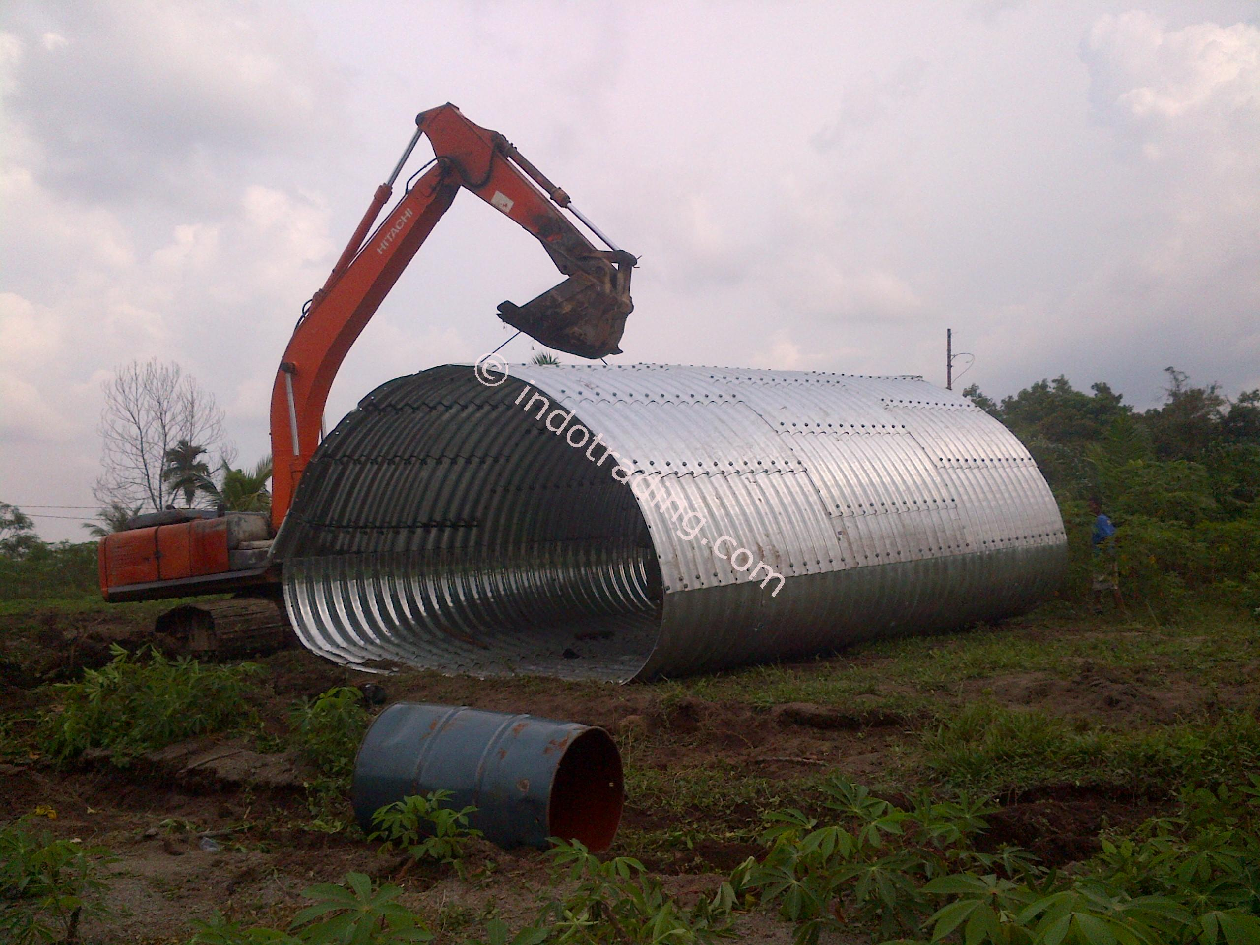 Sell Corrugated Steel Pipe Multi Plate Pipe Arches From