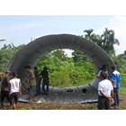 Corrugated Steel Armco Type Multi Plate Pipe Arches bulat oval 7
