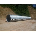 Corrugated steel Pipe type Nestable Flange E-100 5