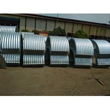 Corrugated Steel Pipe Armco Nestable Flange E 100