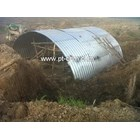 Corrugated Steel Pipe Type Multi Plate Arches 4