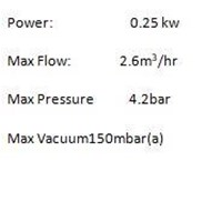 Jual GAST DIAPHRAGM VACUUM PUMP DOA-P504-BN  2
