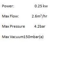Jual GAST DIAPHRAGM PUMP DOA-V502-BN  2