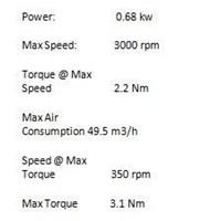 Jual GAST AIR MOTOR 2AM-NCW-7B  2