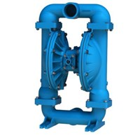 AODD Pump 3 Inch Metallic - Aluminium Body. Buna Diaphragm & Check Valve 1