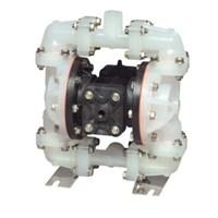 AODD Pump  1.2 Inch Non-Metallic - PP Body PTFE Diaphragm & Santoprene Check Valve 1