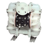 AODD Pump 1 Inch Non-Metallic - PP Body Check Valve Santoprene Diaphragm 1