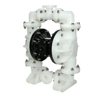 AODD Pump 1.5 Inch Non-Metallic - PP Body Check Valve Santoprene Diaphragm 1